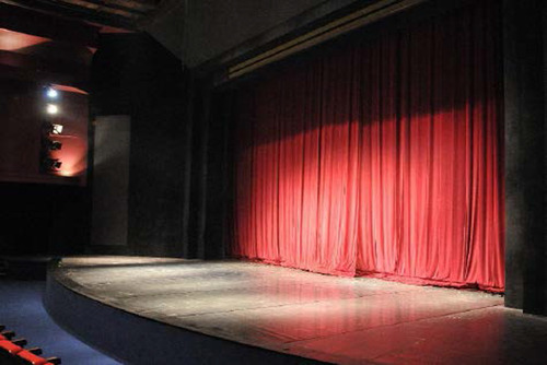 Auditorium Motorised Stage Curtains
