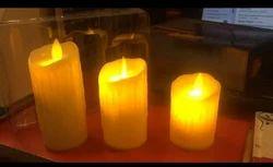 Ceramic 2700-3000 K ALZ LED Candle Light Set