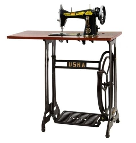 Stand And Table Sewing Machine Black