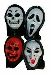 Plastic Horror Face Mask