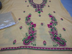 Thread Work Punjabi Suits