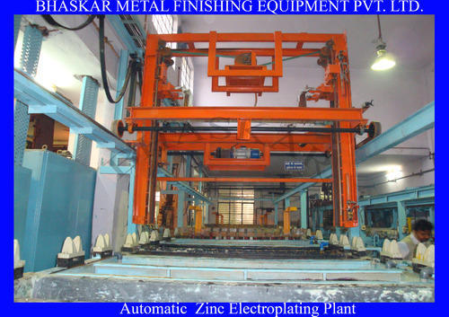 Automatic Electroplating Plant Automatic Zinc