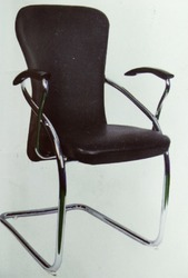 Alfa Chrome 1 inch Visitor Chair
