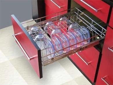stainless steel kitchen trolley basket crystal modular kitchen nagpur id