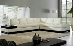 Solid Wood L Shaped Sofa Set, Warranty: 5 Years