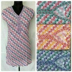 Large Stitched Cotton Kurtis