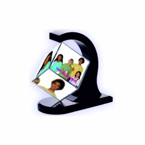 Plastic Rotating Cube Frames At Rs 165 Piece Picture Frame Photo