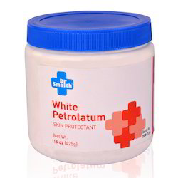Manufacturer and Exporter of White Petrolatum Skin Protectant 15 Oz (425g)