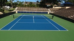 Mini Tennis Court Surface