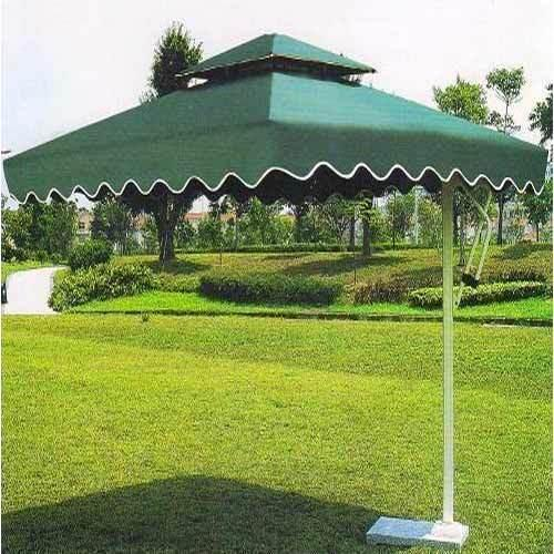 Green Nylon Aluminium Garden Umbrella Size 7 X 7 Ft Rs 18500