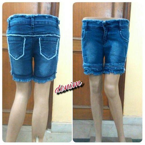 9cae534376905 We are leading Manufacturer of Ladies Denim Shorts. Request Callback. Denim  Shorts