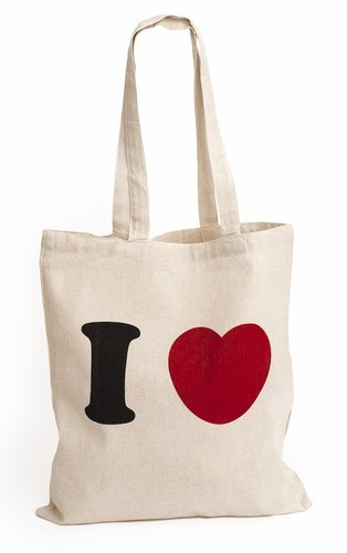 Printed Cotton Bag, Size: All
