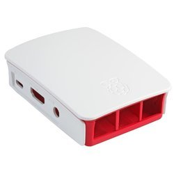 ABS Case For Raspberry Pi 3/2/B White Color