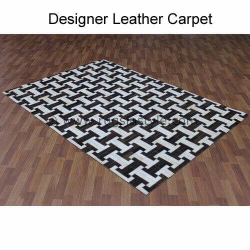 Designer Leather Carpets