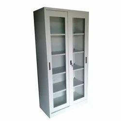 Veer Sliding Glass Almirah, For Library, No. Of Doors: 2 Door