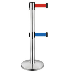 Double Belt Stanchion