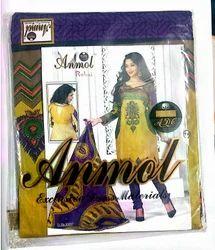 Cotton Regular Wear Salwar Suit Dress Material