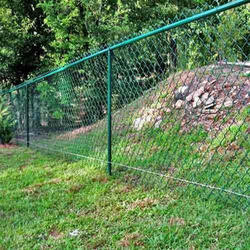 Chain Link Fencing - Galvanized Chain Link Fencing Manufacturer from