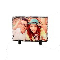 Sublimation Stone Frame, Rectangular, for Gifting, Decoration etc