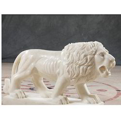 MH-6 Lion Marble Handicraft