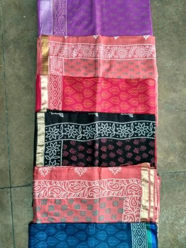 Cotton Sarees, Hand