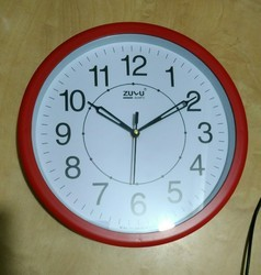 Quartz Round Wall Clock, Model No.: 513, Size: 10