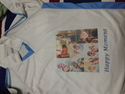 Sublimation Print On T-shirt
