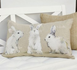 Bunny Throw Pillows