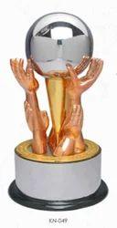 Hand Globe Trophy