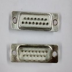 1-15- Pin- Male- D Type- Connector