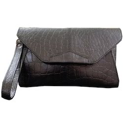 Leather Designer Envelop Bag