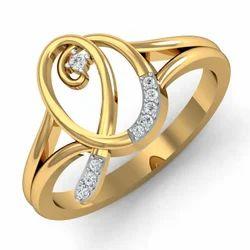 Golden Diamonds Ring