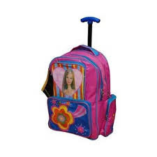 Polyester, Nylon Wheeled Bag Trolley School Bag