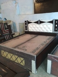 Wooden Double Bed in Alwar, लकड़ी का डबल बेड, अलवर