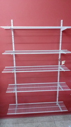 Garment Wire Shelf Wall Mount Rack