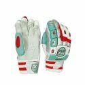 Red Rock Zipper Medium Cricket Batting Gloves