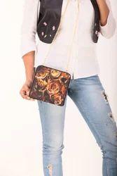 Ladies Square Sling Bag