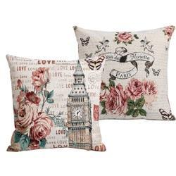 Printed Vintage Cushion Covers