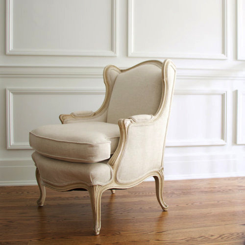 Beau French Lounge Chair
