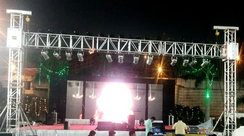 Stage Truss LED Lights On Hire
