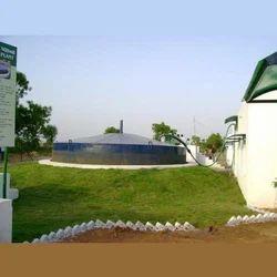 Underground Biogas Plant