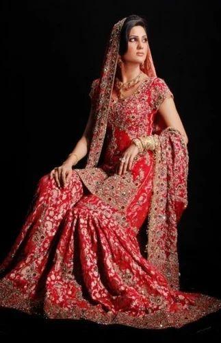 9f5a7eff86 Bridal Sharara at Rs 8000 /piece(s) | Hyderabad | ID: 10931475730
