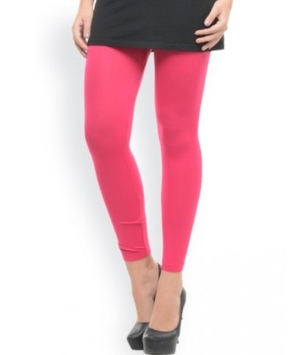 Pink Ankle Length Leggings