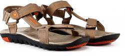 Mens Sparx Brown Sports Sandals