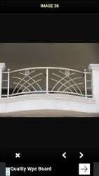 Jindal 202 and 304 Steel Railings
