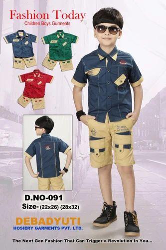 0a277ff6 Kids Casual Wear Set, Kids Casual Wear - Debadyuti Hosiery Garments ...