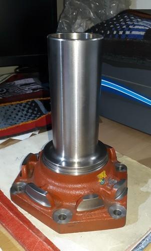 ZF 9SPEED Gearbox Chilam & Cabin control valve Bharat Benz