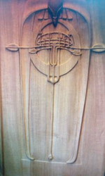 Custom Carved Panel