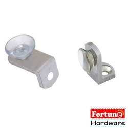 Fortune Hardware Metal SS L Button, Packaging Type: Box
