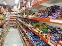 Supermarket Corner Racks